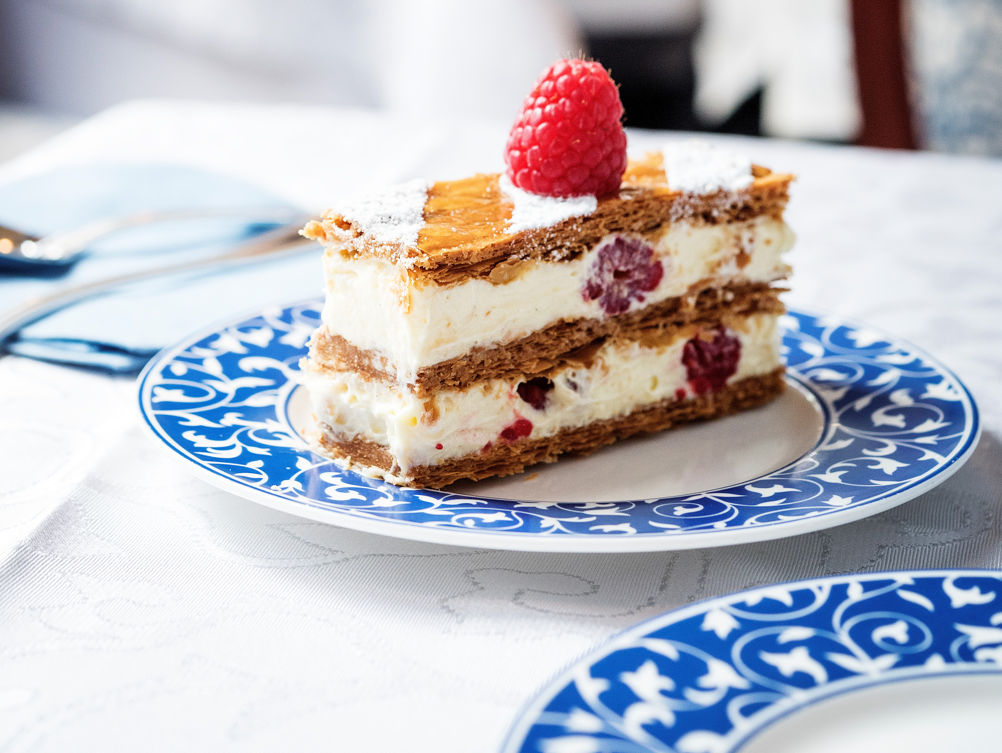 Raspberry Mille Feuilles