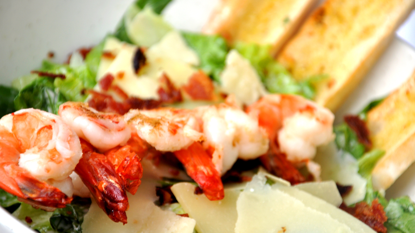 Buko Bar Prawn Salad