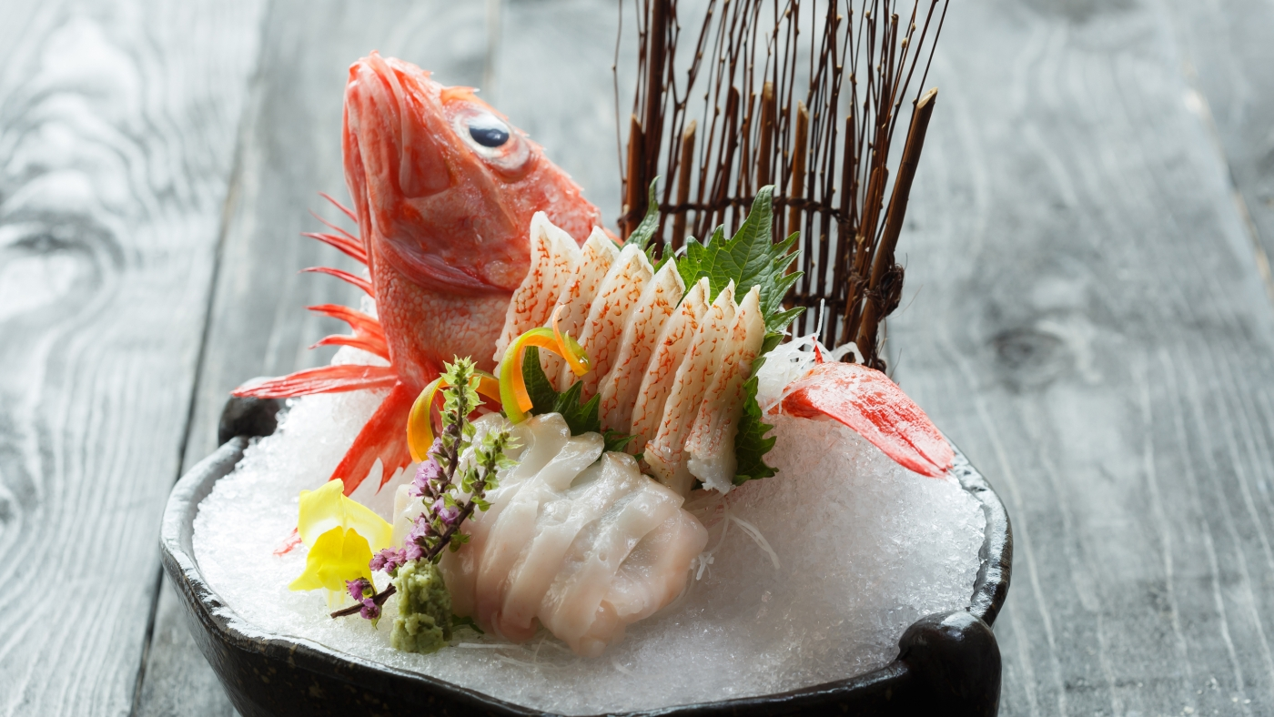 Deluxe Selection of Sashimi